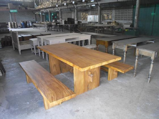Furniture by solid acacia and US oak