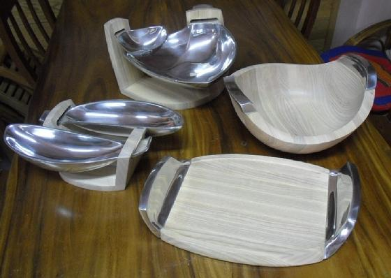 Ash Wood Tray Collection
